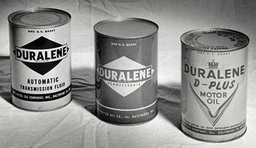 Duralene Oil Cans