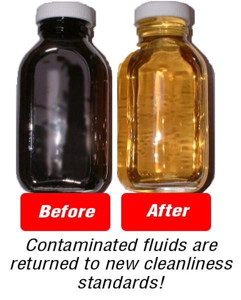 Duralene filtration samples