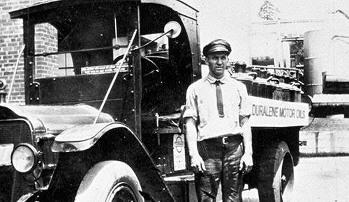 Historical Duralene Truck