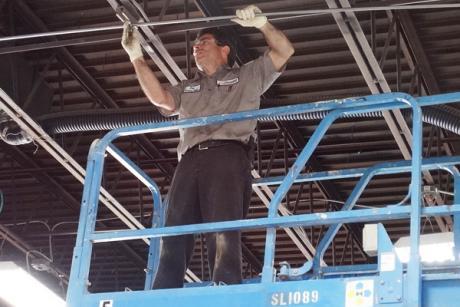 Pat Installing Equipment