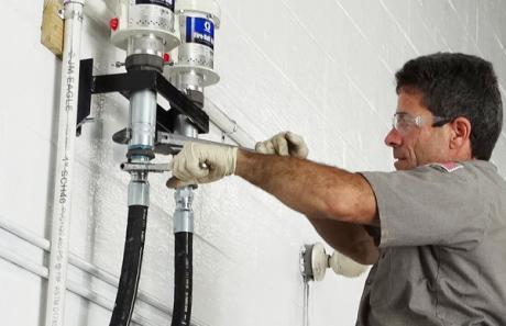 Pat Installing Heavy Duty Equipment